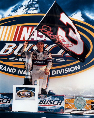 kevin_harvick_champ_photo_waving_dale_earnhardt_flag
